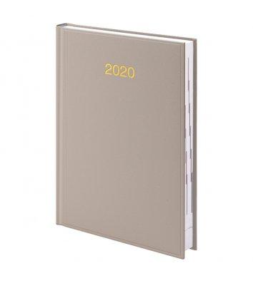 Щоденник датований A5 2020 Miradur Trend бежевий, Brunnen