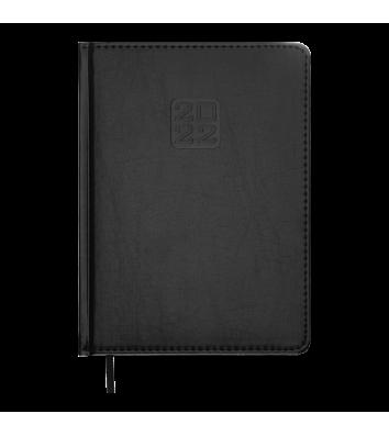 Ежедневник датированный A5 2021 Bravo (Soft) черный, Buromax