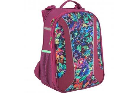 """Рюкзак каркасний шкільний """"Flowery"""", Kite"""
