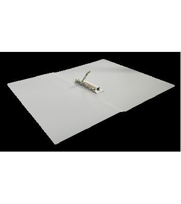 Папка А4 пластикова з затиском Clip B сіра, Buromax