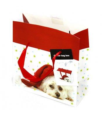 Пакет подарунковий паперовий  23*16*11см, Angel Gifts