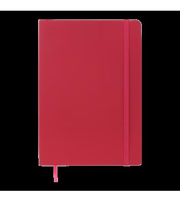 Діловий записник в лінію А5 Touch Me малиновий, Buromax