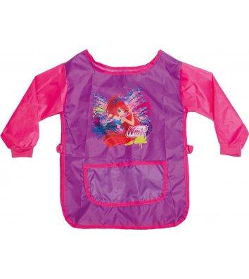 """Фартук с рукавами и спинкой розовый """"Winx"""", 1 Вересня"""