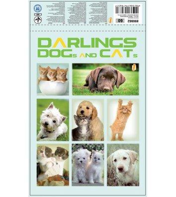 "Блокнот A5 60арк клітинка ""Darling"", Yes"
