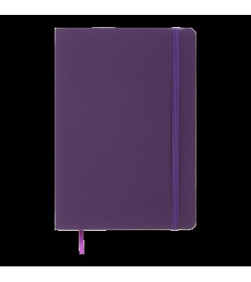 Діловий записник в лінію А5 Touch Me фіолетовий, Buromax
