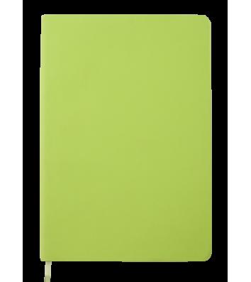 Діловий записник нелінований  А5 Touch Me салатовий, Buromax