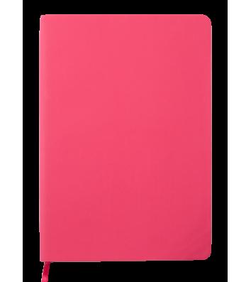 Діловий записник нелінований А5 Touch Me малиновий, Buromax