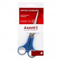 Ножиці 17см ручки з гумовими вставками, Axent