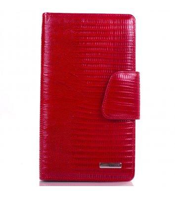 Візитниця для 120 візиток шкіряна Karya, червона