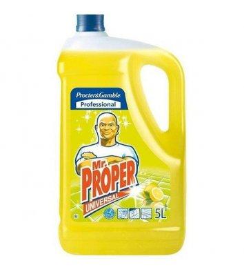 Средство для мытья пола лимон Mr.Proper 5л