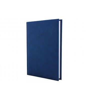 Ежедневник датированный A5 2020 Algora темно-синий, Economix