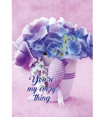 Щоденник недатований А5 Romantic фіолетовий, Buromax
