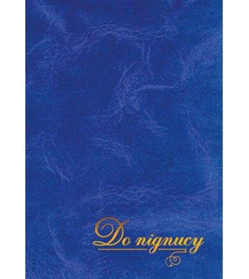 Папка на подпись А4+ балакрон синяя, Скат