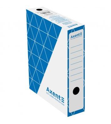 Бокс архивный 80мм синий, Axent