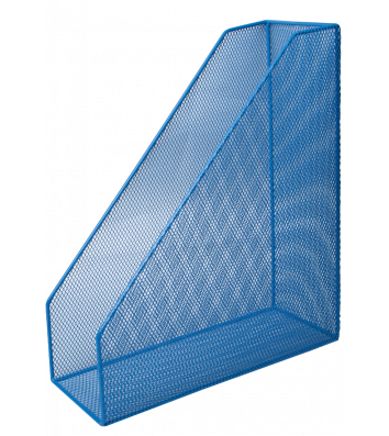 Лоток вертикальний металевий синій, Buromax