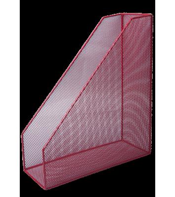 Лоток вертикальний металевий червоний, Buromax