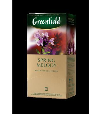 """Чай чорний Greenfield """"Spring melody"""" в пакетиках 25шт"""