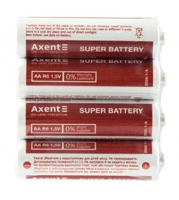 Батарейка LR06/АА 1.5V 4шт, Axent
