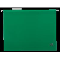 Файл подвесной А4 пластиковый зеленый, Buromax