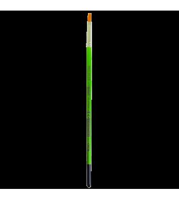 Кисточка №6 синтетика (нейлон) плоская