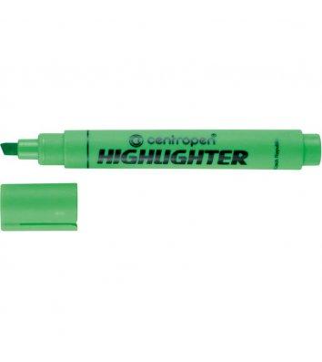 Маркер текстовый Fax, цвет чернил зеленый 1-4,6, Centropen