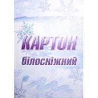 """Картон білий А4 10арк """"Білосніжний"""", Лунапак"""